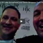 BTS On The Road 53: Lake Arrowhead and Devin Simpson from Hell's Kitchen