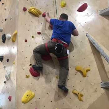 Techniques for Rock Climbing Blind