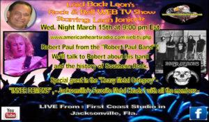 """Laid-Back Leon's"" Rock & Roll Web TV Show"