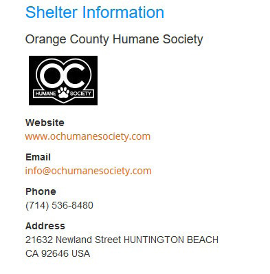 oc shelter info
