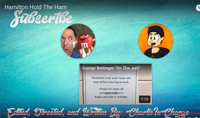 Hamilton Hold The Ham