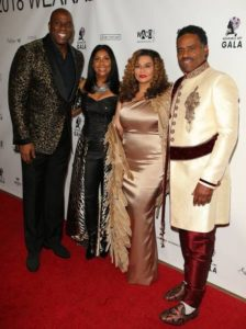 Tina Knowles and Richard Lawson Host Wearable Art Gala